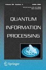 Quantum Information Processing 4/2021