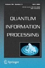 Quantum Information Processing 5/2021