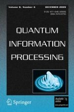 Quantum Information Processing 6/2009