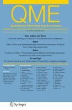 Quantitative Marketing and Economics 3/2015