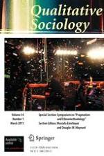 Qualitative Sociology 1/2011