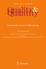 Quality & Quantity 6/2018