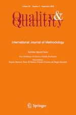Quality & Quantity 5/2019