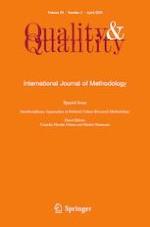 Quality & Quantity 2/2020