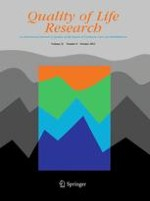 Quality of Life Research 8/2012