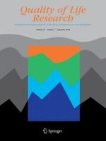 Quality of Life Research 7/2014