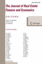 The Journal of Real Estate Finance and Economics 1/2014