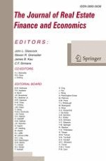 The Journal of Real Estate Finance and Economics 4/2018