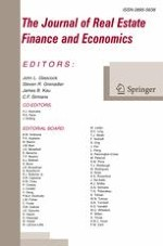 The Journal of Real Estate Finance and Economics 3/2018