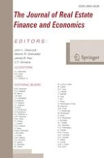 The Journal of Real Estate Finance and Economics 1/2020