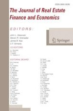 The Journal of Real Estate Finance and Economics 3/2020