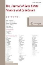 The Journal of Real Estate Finance and Economics 2/2021