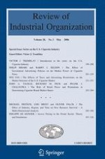Review of Industrial Organization 1/2005
