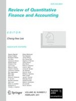 Review of Quantitative Finance and Accounting 2/2011