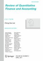 Review of Quantitative Finance and Accounting 3/2017
