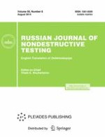 Russian Journal of Nondestructive Testing 8/2014