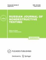 Russian Journal of Nondestructive Testing 8/2016