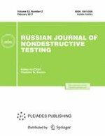 Russian Journal of Nondestructive Testing 2/2017