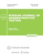 Russian Journal of Nondestructive Testing 9/2018
