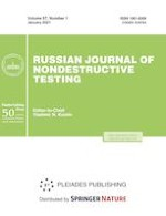 Russian Journal of Nondestructive Testing 1/2021