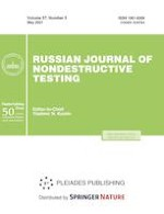 Russian Journal of Nondestructive Testing 5/2021