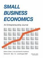 Small Business Economics 1-2/2007