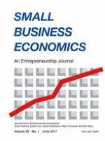 Small Business Economics 1/2017