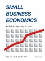 Small Business Economics 3/2018