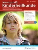 Monatsschrift Kinderheilkunde 8/2001