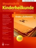 Monatsschrift Kinderheilkunde 10/2003