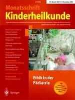 Monatsschrift Kinderheilkunde 12/2003