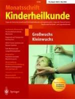 Monatsschrift Kinderheilkunde 5/2004