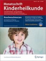 Monatsschrift Kinderheilkunde 7/2009