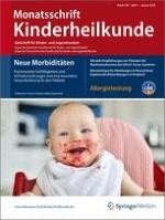 Monatsschrift Kinderheilkunde 1/2010
