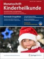 Monatsschrift Kinderheilkunde 12/2010