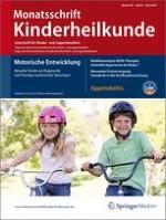 Monatsschrift Kinderheilkunde 5/2010