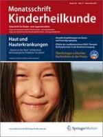 Monatsschrift Kinderheilkunde 11/2011