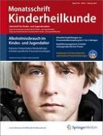 Monatsschrift Kinderheilkunde 2/2011