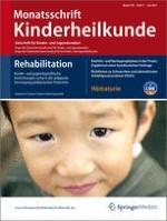 Monatsschrift Kinderheilkunde 7/2011