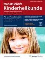 Monatsschrift Kinderheilkunde 12/2012