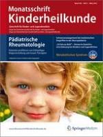 Monatsschrift Kinderheilkunde 3/2012