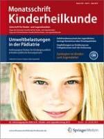 Monatsschrift Kinderheilkunde 5/2012
