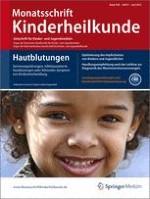 Monatsschrift Kinderheilkunde 6/2012
