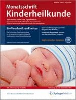 Monatsschrift Kinderheilkunde 8/2012