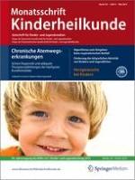 Monatsschrift Kinderheilkunde 5/2013