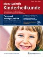 Monatsschrift Kinderheilkunde 6/2013