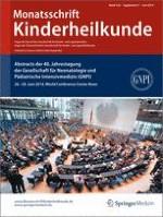 Monatsschrift Kinderheilkunde 1/2014