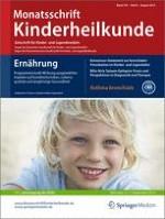 Monatsschrift Kinderheilkunde 8/2015