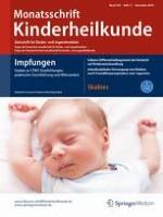 Monatsschrift Kinderheilkunde 11/2016