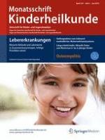 Monatsschrift Kinderheilkunde 6/2016